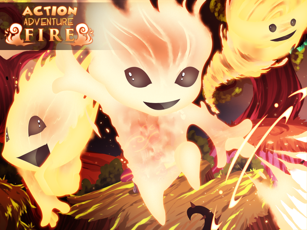 Action Adventure Fire