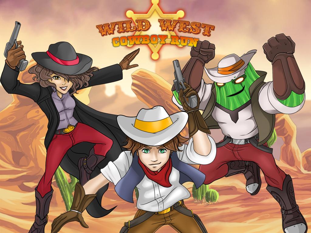 Wild West Cowboy Run