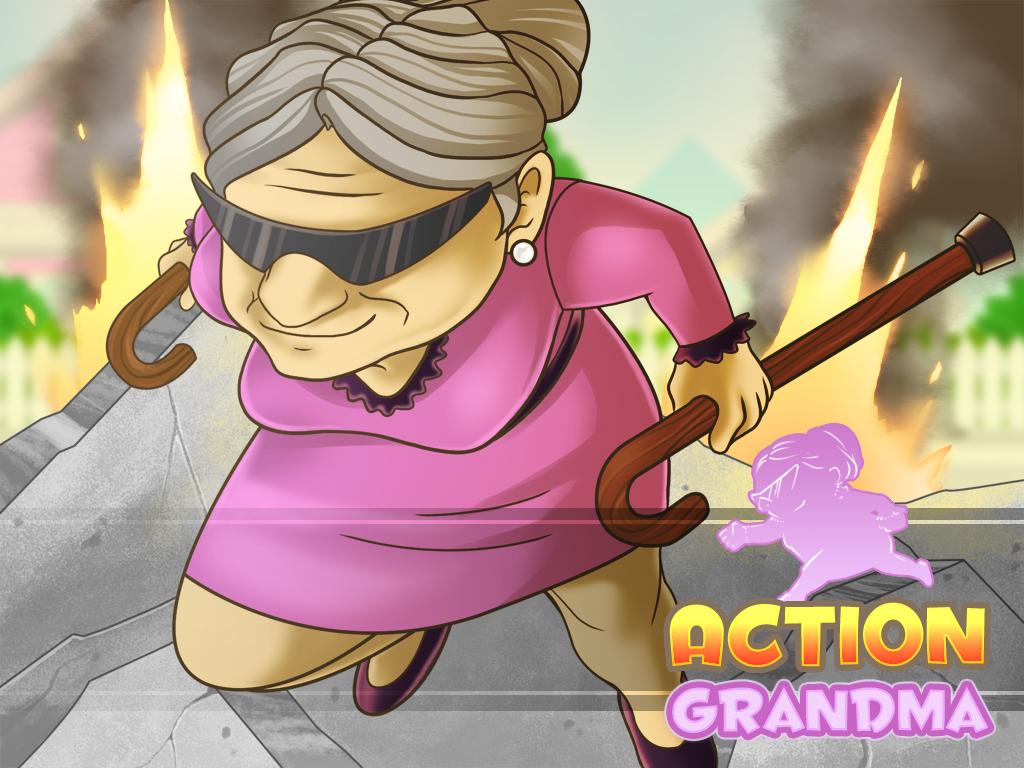 Action Grandma
