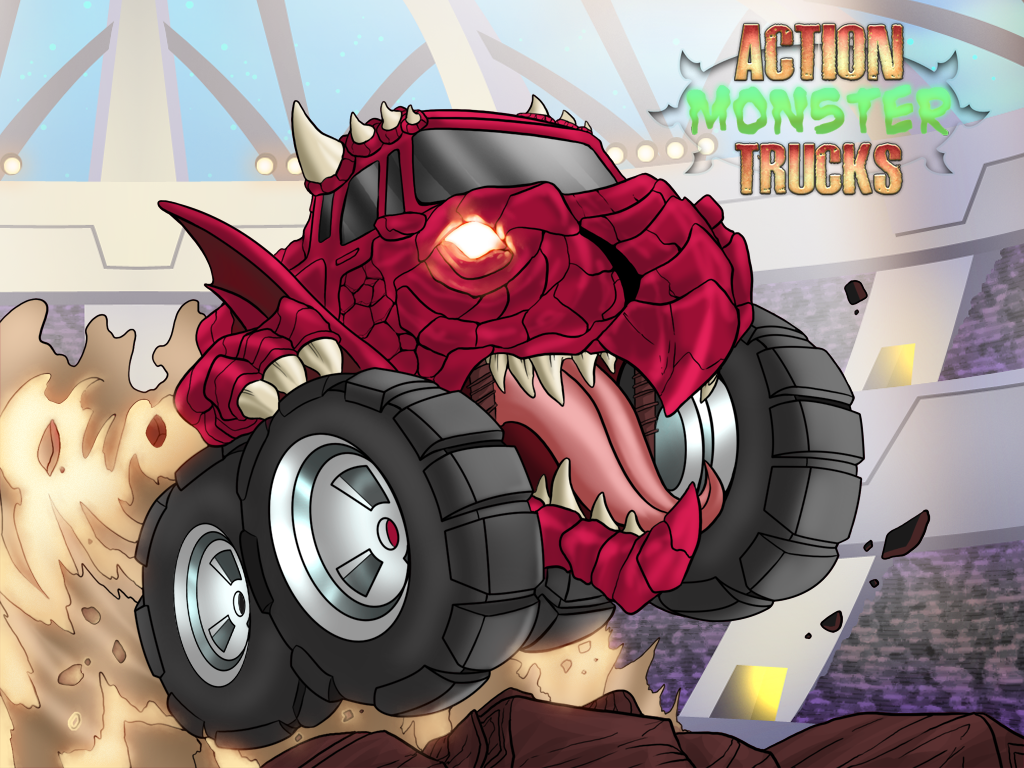 Action Monster Trucks