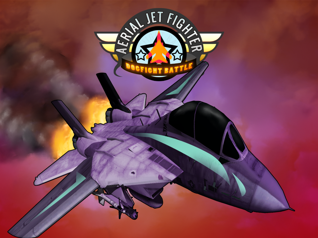 Aerial Jet Fighter Dogfight Battle