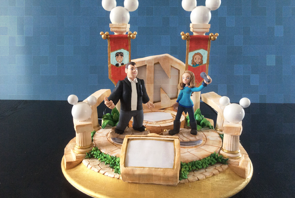 Disney Infinity Custom light up Hall of Heroes Tribute