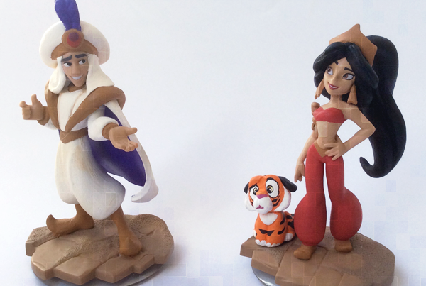 Disney Infinity Custom Jasmin And Prince Ali Ababwa