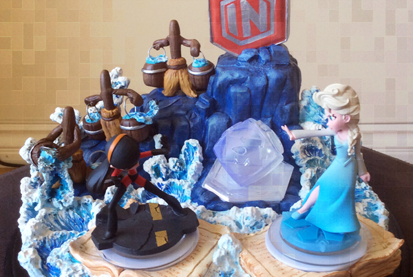 Disney Infinity Originals Custom Base